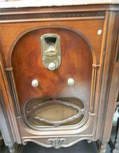 An early 1930s Majestic Cabinet Radio