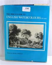 Volume of 'Price Guide to English Watercolours'