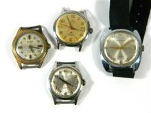 A Collection of Gentleman's Watches including Tyson, Waltham, Serama and Swismatic