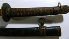 An antique signed Japanese sword