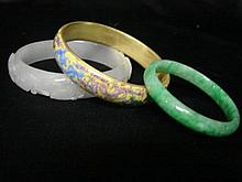 Three Chinese Bangles