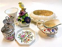 A collection of ceramic items, including Wedgwood, Royal Worcester, Spode, Aynsley and Adderley