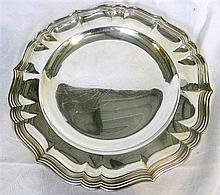 A German silver (800) plate