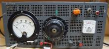 A Lambda model LMEE5 regulated power supply serial number n/a;