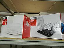 A Home Maker Bone China Dinner Set and Dish Rack