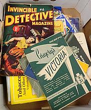 A Box of Road Maps Comics and Magazines