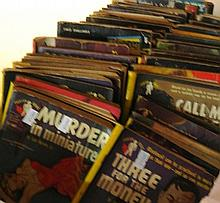 A Collection of old 1950s Mystery Novels