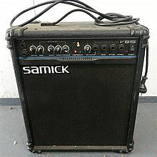 A Samick Series Micro-Bass Amplifier