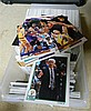 An assortment of Basketball cards