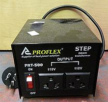A Proflex Step Down Transformer