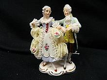 A German Dancing Couple Figurine AF