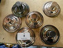 A Set of Six Candelabra Candle Holders