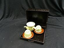 A Green Japanese Teaset