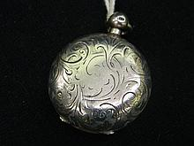 A Sterling Silver Sovereign Holder