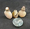 Three ChineseSnuff Bottles, together with a small glass bowl