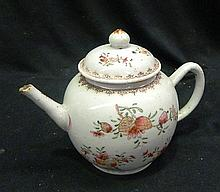 An 18th Century Famille Rose Teapot