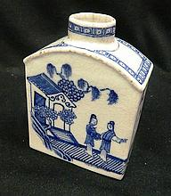 An 18th Century Style Chinese Blue and White Tea Caddy