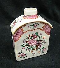 An 18th Century Style Chinese Famille Rose Tea Caddy