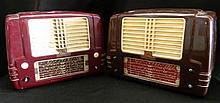 A Set of Two Little Nipper Vintage Radios