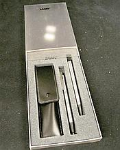A Lamy Pen Set in Box