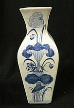 A Beautiful Blue and White Vase