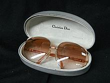 A Pair of 1980's Christian Dior Women's Sunglasses