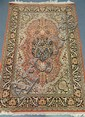 A Fine Persian Wool / Silk Rug