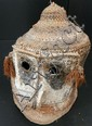 A Woven Cane Dance Head-Dress