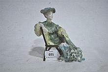 A Royal Doulton figure ornament, Ascot, 15.5cm H