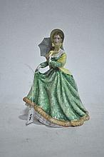 A Royal Doulton figure ornament, Elizabeth, 21cm H