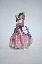 A Royal Doulton figure ornament, May Time, 19cm H