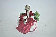 A Royal Doulton figure ornament, Lydia, 13cm H