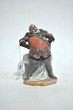 A Royal Doulton figure ornament, Falstaff, 18cm H