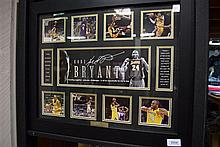 A signed Kobe Bryant limited edition photo pictorial 217 of 499