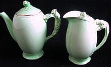 A Royal Winton coffee pot & jug