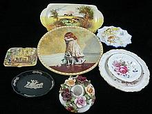 A Collection of English ceramics including Royal Doulton, Wedgwood, Royal Albert (8)