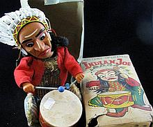 A boxed toy 'Indian Joe'