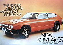 A 1976 Reliant Scimitar GTE Sales Brochure