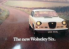 A Wolseley Six Sales Brochure
