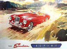 A Fantastic 1953 Sunbeam Alpine Sales Brochure and Price List