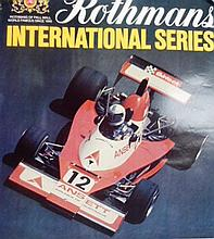 A Rothman's International Series Racing Poster