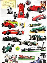 The Donington Collection Poster of Single Seater Racing Cars