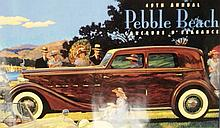 A Pebble Beach Concourse Poster August 1999