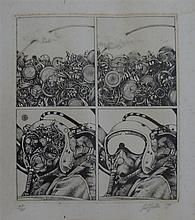 Neil Hollis (b.1954) Untitled (Pilot) 1947 Etching ed. 32/60