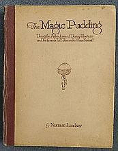 Lindsay, Norman. The Magic Pudding, Being the Adventures of Bunyip Bluegum and his friends Bill Barnacle & Sam Sawnoff,