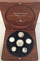 A Royal Australian Mint 2003 fine silver proof set in timber presentation box