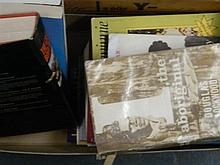 A box of assorted books including The Boer War and Aboriginal interest (10)