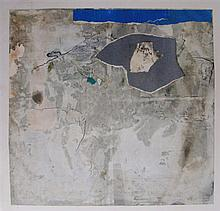 † Mac Betts (1932-2010) Granite Structure II Mixed media on paper