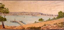Tom Peerless (1884-1899) Manly 1883 Watercolour