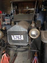 A 1912 Metz 22 in barn find condition